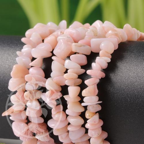 Opal Armband Pink Opal Chips Armreifen Edelsteine aus Peru