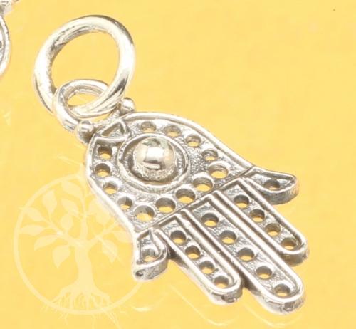 Indische Hand Silberanhänger 925 23x11mm