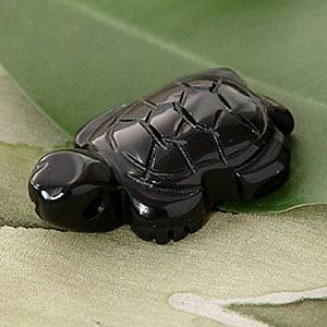 Onyx Schildkröten-Anhänger