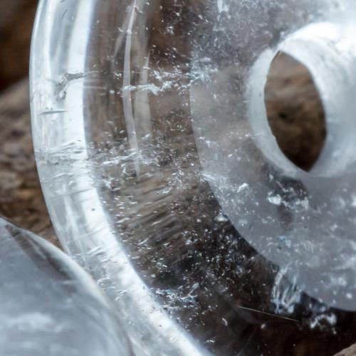 Bergkristall Donut klein 20mm A