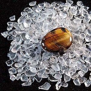 Bergkristall Mini Steine zum Aufladen 200g