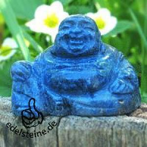 Buddha aus Dumortierit