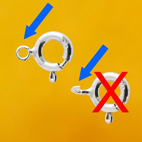 Silver Spring Ring 5.5mm