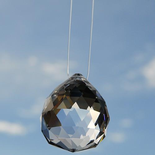 nylon faden f r feng shui kristalle band zum aufh ngen transparent 0 5mm 10m. Black Bedroom Furniture Sets. Home Design Ideas