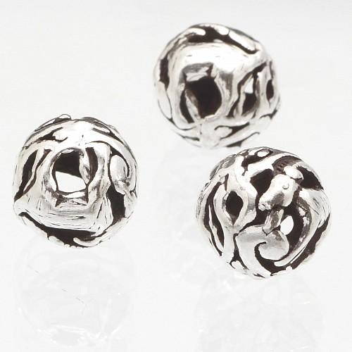 Silber Perle 925er Tierkreiszeichen Ziege 10mm