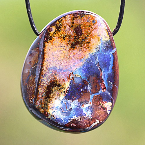 Opal Stein Anhänger 31*25mm