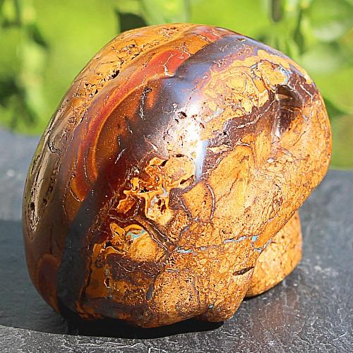Opal Steinschädel  Edelstein 42*41*59mm Boulder Opal