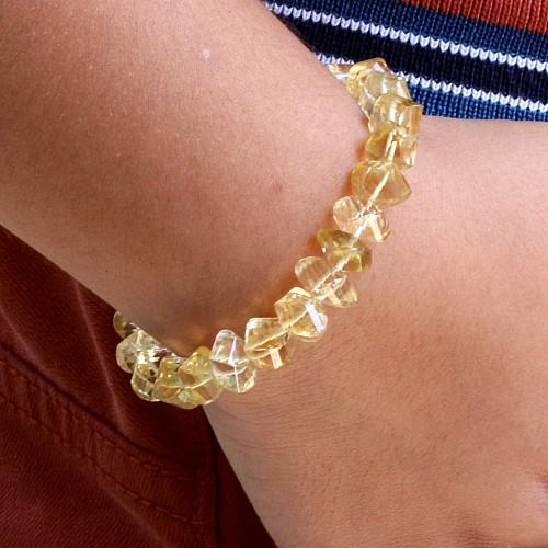 Citrin Bracelet faceted