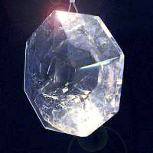 Feng-Shui 8-eck Prisma Bergkristall