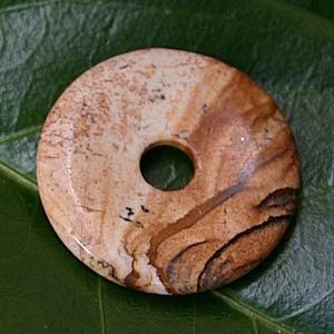 Landschafts-Jaspis Donut