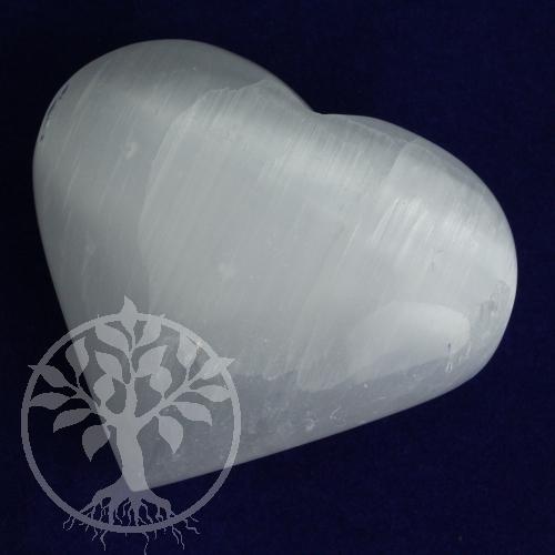 Selenit Herz Handschmeichler 75mm