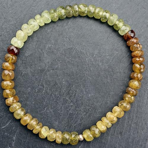 Green Garnet Bracelet High Quality