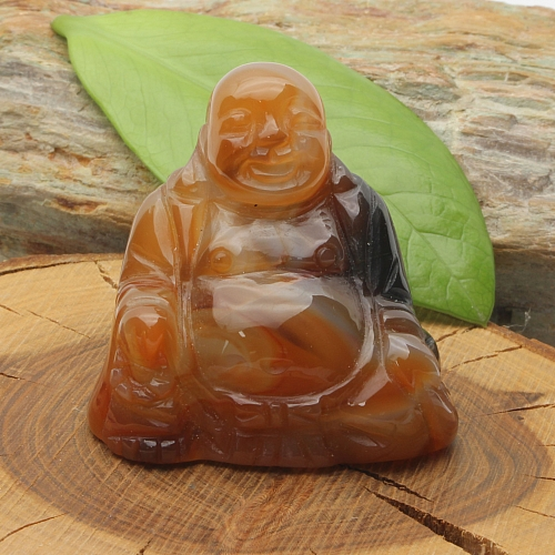 Carneol Buddha 00350x50x30mm