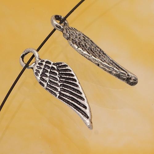 Engel Flügel 925er Charm Anhänger 19x5mm