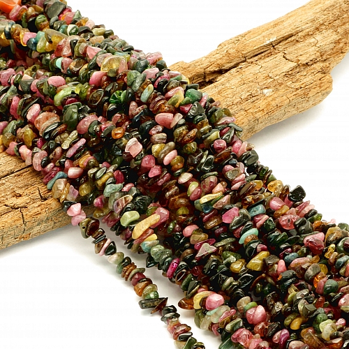 Turmalin Mix Halskette 70cm