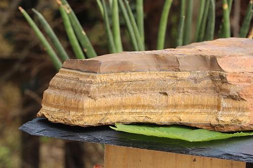 Tigereye Rough Semi-Precious Stone  20x13x5cm  1,8kg