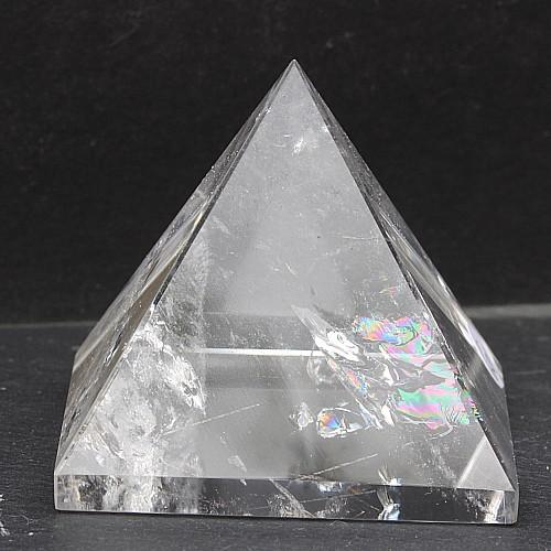 Rock crystal pyramid 30mm