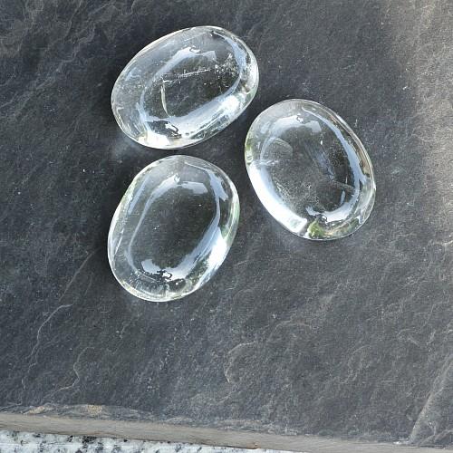 Bergkristall AA 40x30x15mm gute Qualität Seifenstein Exakt