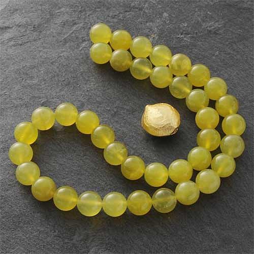 Korea Jade Perlen 6mm AA Koreajade