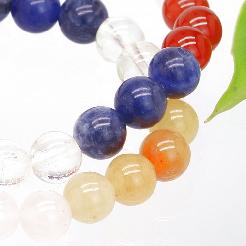 Chakra Armband Chakra Farben 8mm
