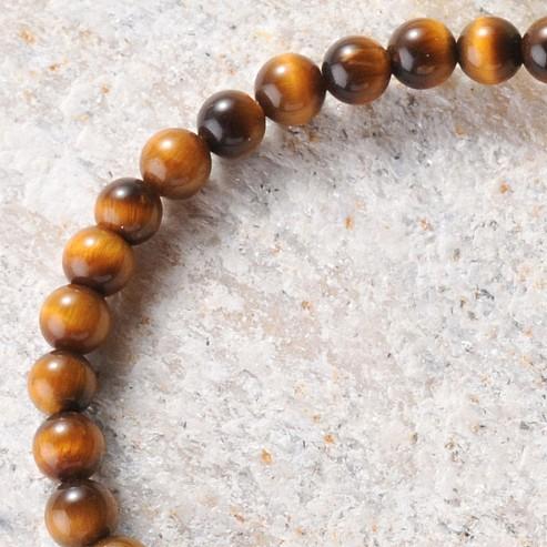 Tiger Eye Round Beads 6mm A