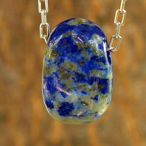 Lapislazuli Stone Pendant Small A 17mm
