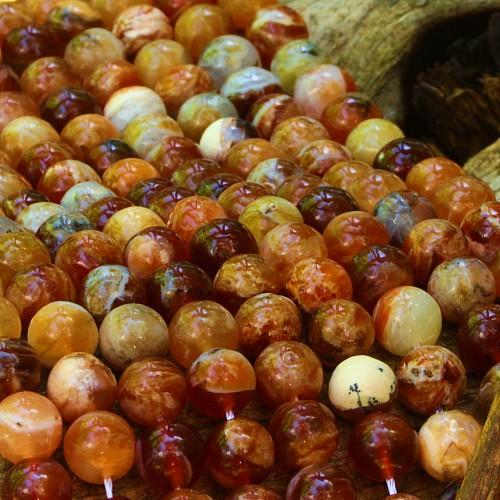 Brandy Opal beads 6mm/40cm round beads