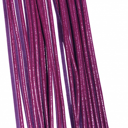 Leather ribbon goat 1 Meter 1,5mm burgund