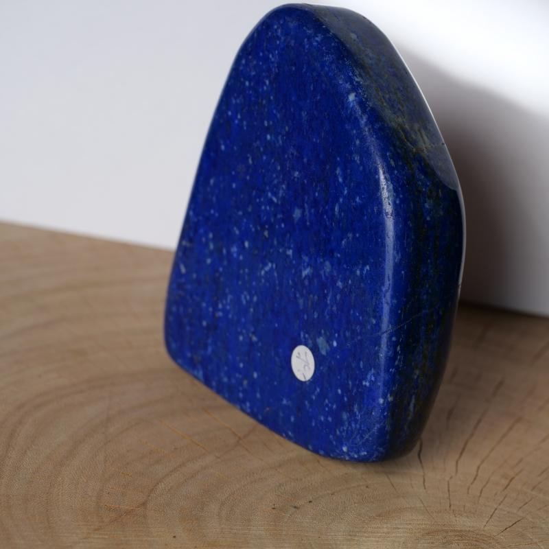 Lapislazuli großer Stein Edelstein Skulptur 95*75*25mm polierter Lapis
