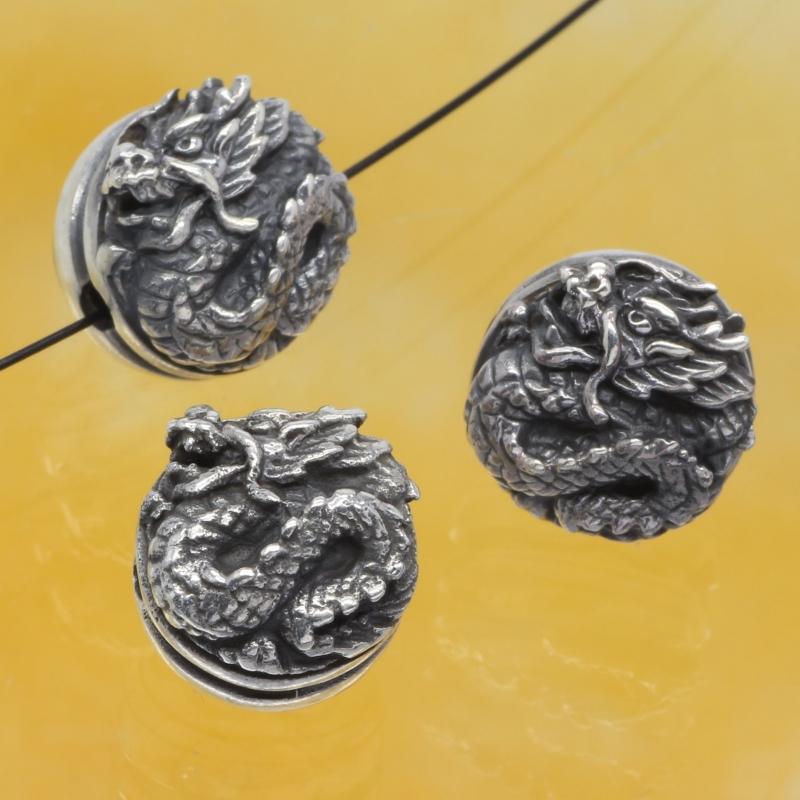 Silberperlen Dragon Sterlingsilber 925
