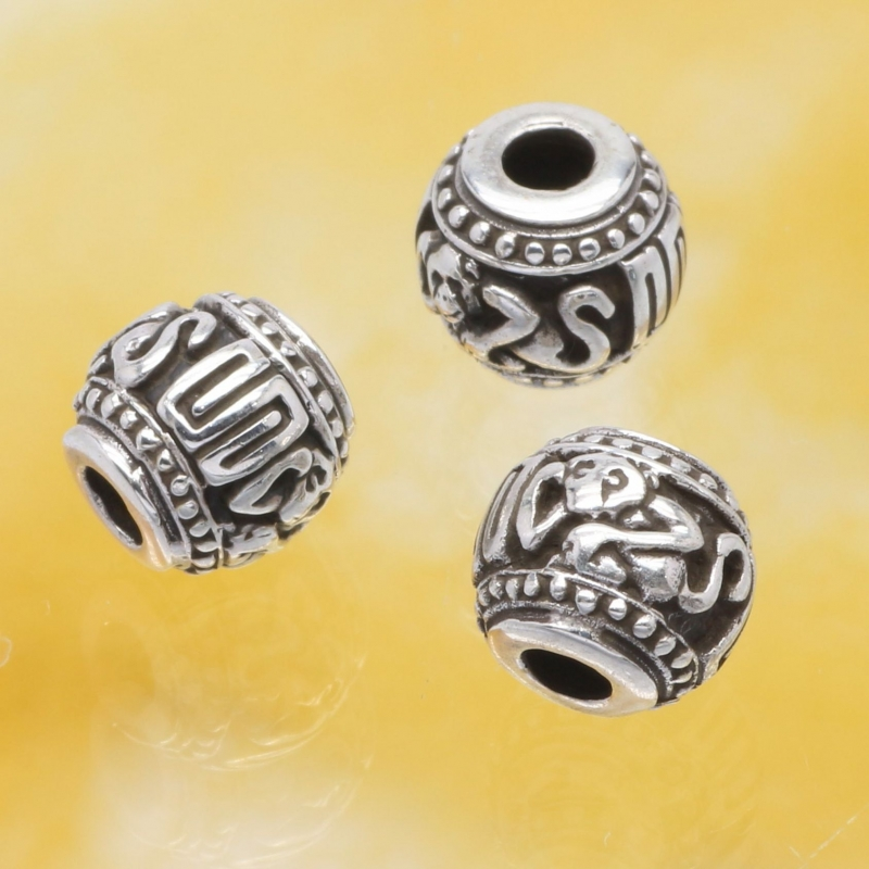 Silver Bead The Year Of The Monkey Sterlingsilver 925 10mm