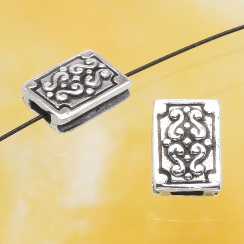 Silber Perle Pandoras Büchse Silber 925 10x7mm