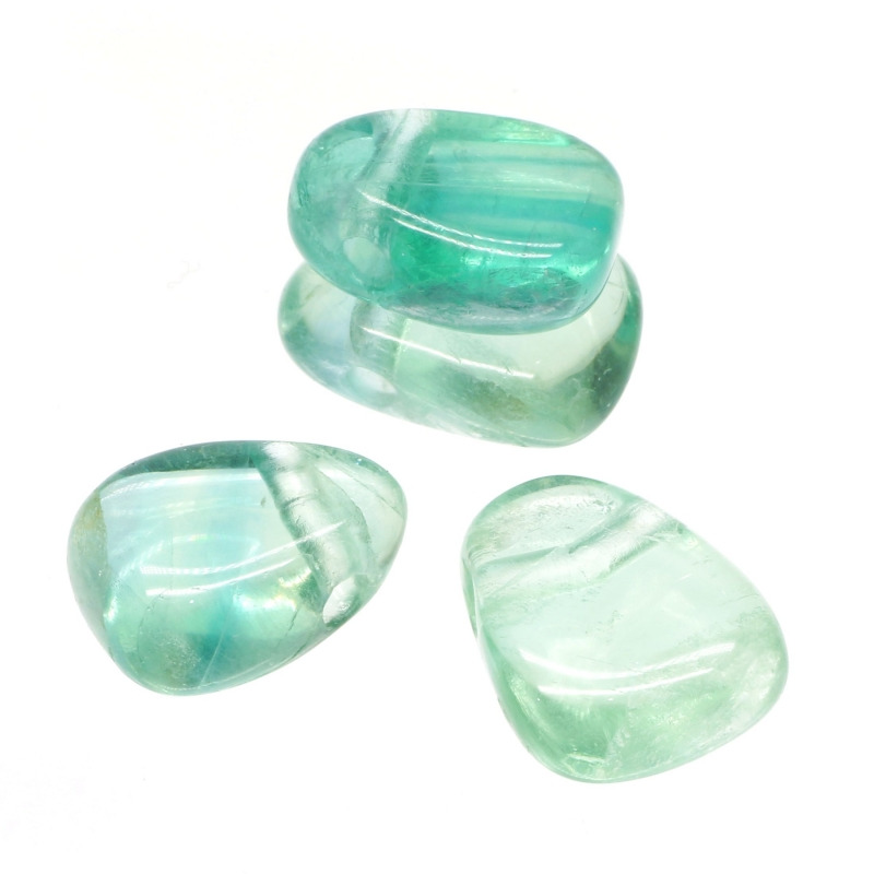Fluorit Green Stone Pendant Mini 18-23mm