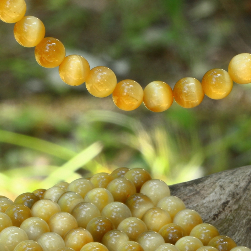 Tigereye Beads 6mm AA+ fine quality 40cm strand