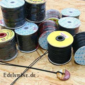 Baumwoll Schmuckband 1mm auf 100 Meter Rolle