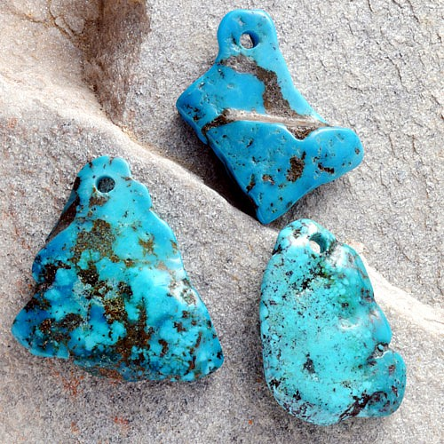 Turquoise Nugget A-Quality 35-55mm