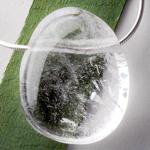 Bergkristall Anhänger A 20/30mm