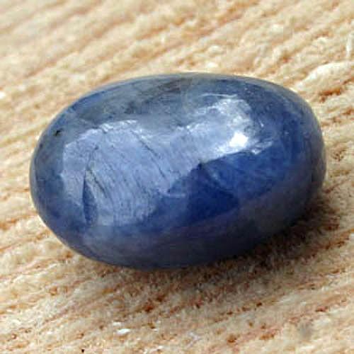 Saphir blau Trommelstein