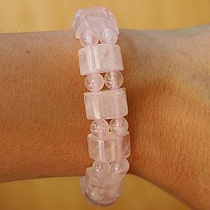 Rose Quartz Bracelet Steg