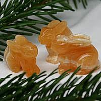Rabbit Orange Calcite
