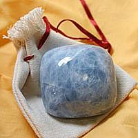 Calcit Blau Massagestein