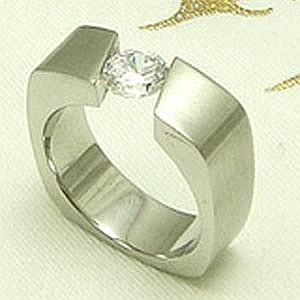 Edelstahl-Ring ER305