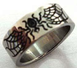 Edelstahl-Ring ER430 Spider