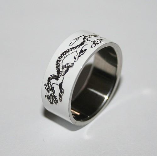 Edelstahl-Ring ER450 Dragon 2