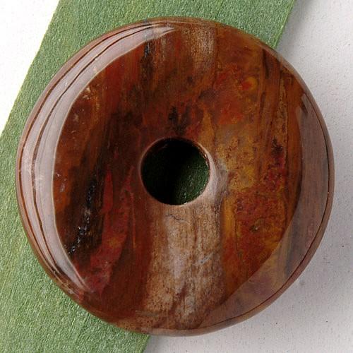 Petrified Wood Donut 30mm