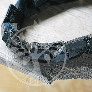 Turmalin Edelstein Armband Rohstein