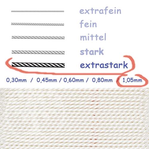 Natural Silk white 1,05mm