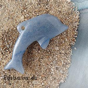 Blue Quartz Dolphin Big