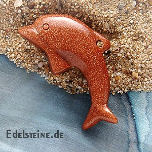 Gold Stone Dolphin Big