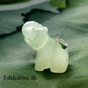 China Jade Elefant Edelstein Elephant